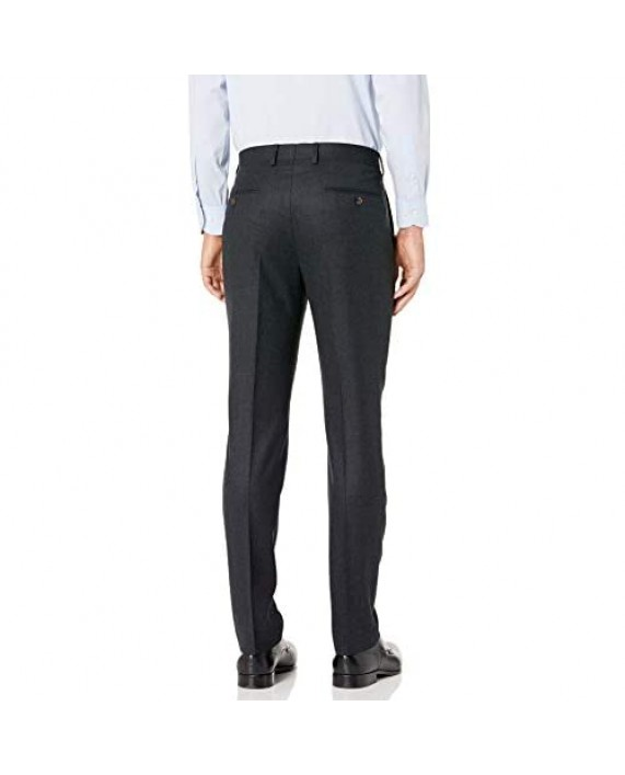 Brand - Buttoned Down Men's Slim Fit Italian Wool Flannel Suit Pant