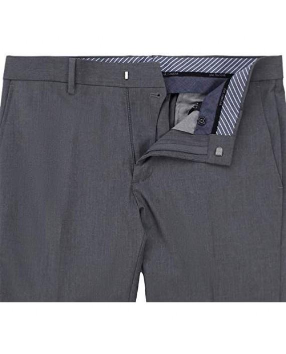 J. M. Haggar 4-Way Stretch Plain Weave Ultra Slim Flat Front Premium Flex WB Suit Separate Pant