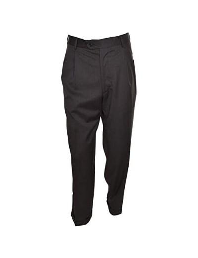 Kirkland Signature Men's 100% Wool Flat Front Dress Pants