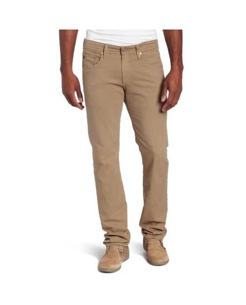 AG Adriano Goldschmied Men's The Matchbox Slim Straight Leg Leatherette