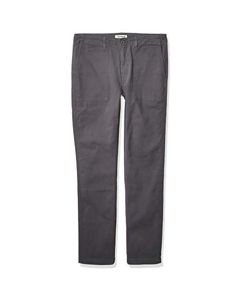 Brand - Goodthreads Men's Slim-Fit Stretch Canvas Utility Pant