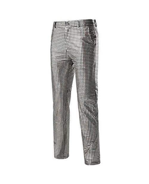 ZEROYAA Mens Night Club Metallic Gold Suit Pants/Straight Leg Trousers
