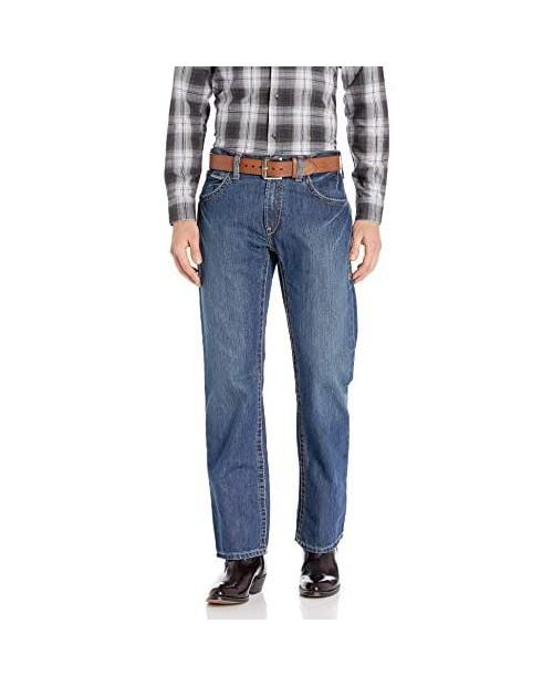 Ariat M5 Slim Stackable Straight Leg Jean - Men's Low Rise Slim Fit Denim