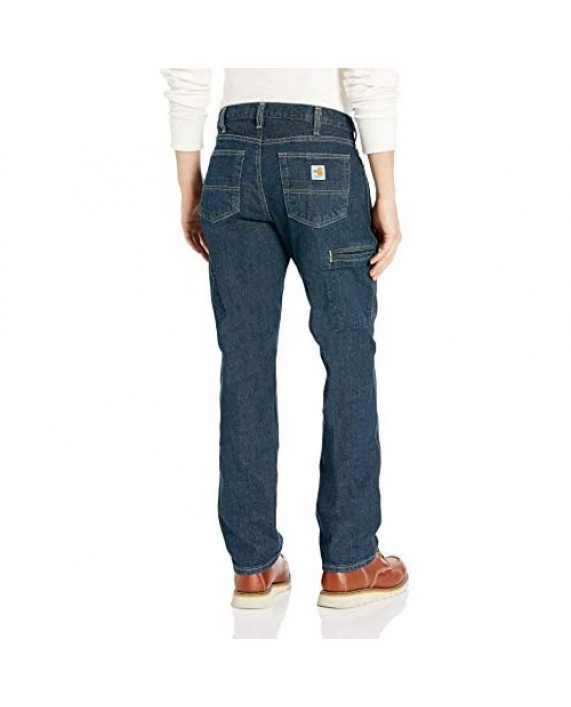 Carhartt Men's Flame-Resistant Rugged Flex Relaxed Fit Jean