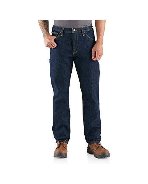 Carhartt Men's Rugged Flex Relaxed Fit Heavyweight 5-Pocket Jean