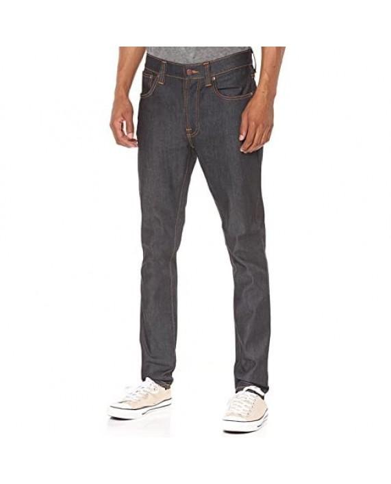 Nudie Jeans Men's Lean Dean Dry 16 Dips Skinny-Fit Jean