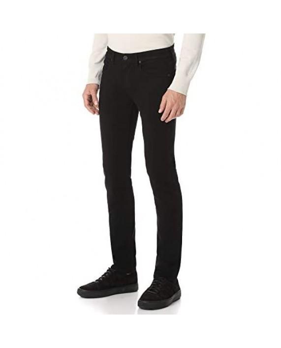 PAIGE Men's Lennox Black Shadow Jeans