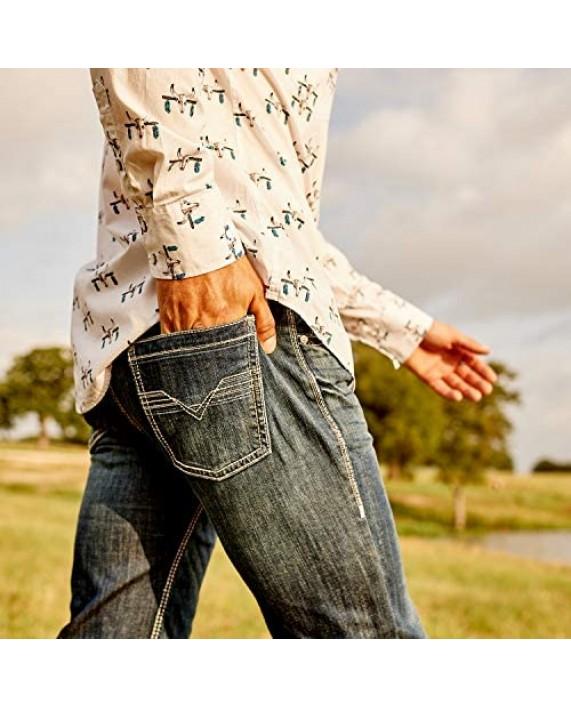 Rock & Roll Denim Regular Fit Bootcut Jeans #M0P2602
