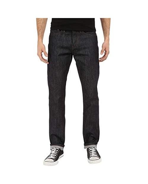 The Unbranded Brand Men's UB201 Tapered Indigo Selvedge Jean