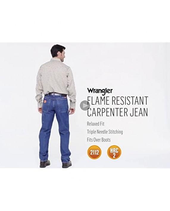 Wrangler Riggs Workwear Men's Big & Tall Fr Flame Resistant Carpenter Jean