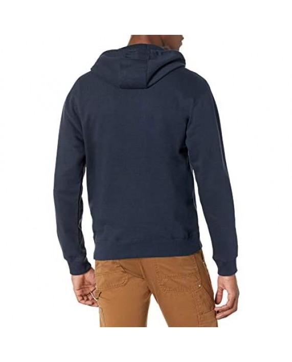 Dickies Men's Full Zip Fleece Hoodie
