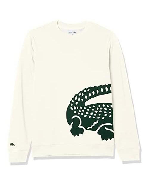Lacoste Men's Large Croc Crewneck Sweatshirt
