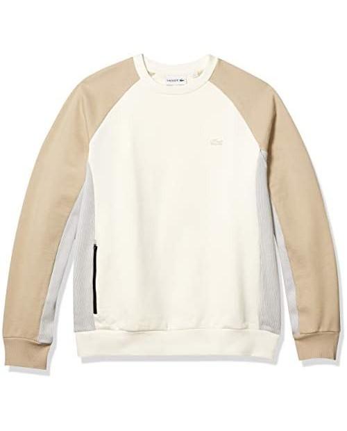 Lacoste Men's Motion Long Sleeve Quick Dry Sweatshirt