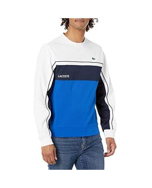 Lacoste Men's Sport Colorblock Crewneck Sweatshirt