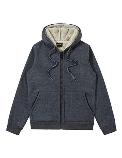 Ocnoant Men's Full Zip Hoodies Mens Hooded Sweatshirts
