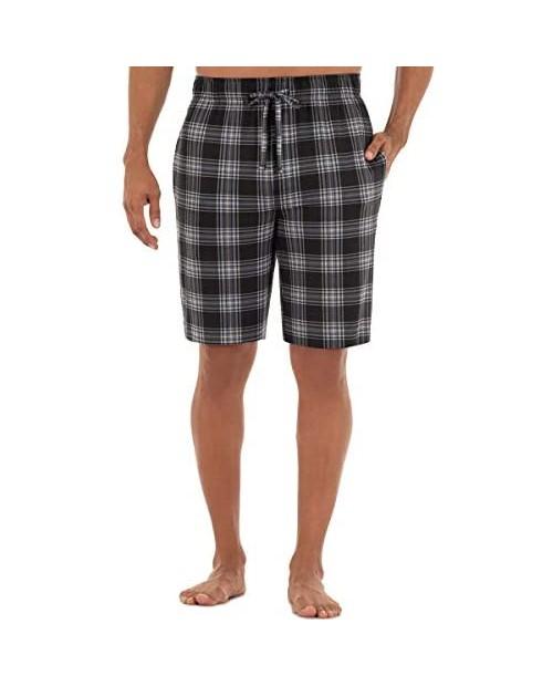 Van Heusen Men's Printed Knit Sleep Shorts