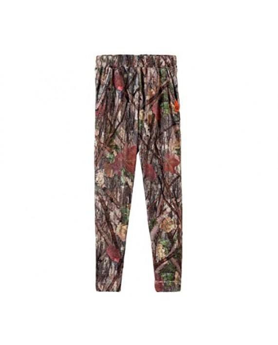 Camo Pajamas for Men and Women - Fleece Lounge Pants and Shirt - Camouflage