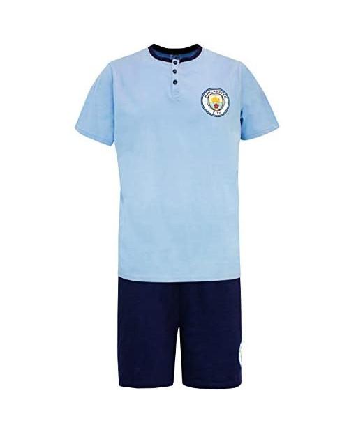 Manchester City FC Mens Soccer Pajamas