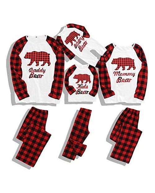 Matching Family Pajamas Set Christmas Pants Cotton Pjs Set Pajamas for Family