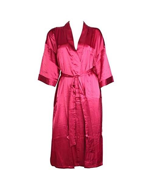 Intimo Mens Silk Kimono Robe