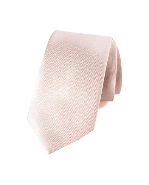 Spring Notion Men's Woven Dotted Necktie