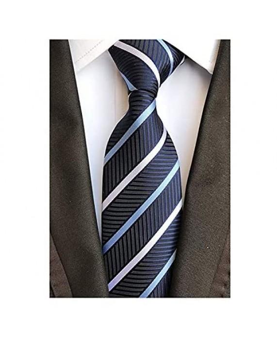 "Weishang 4PCS Wide Ties 63"" XL Extra long Necktie Tall Tie"
