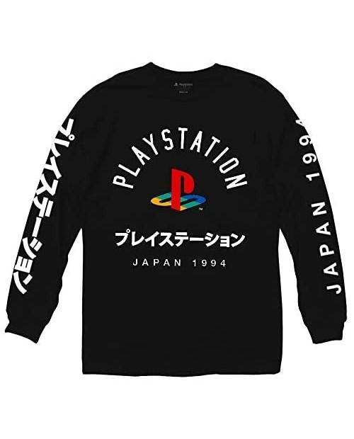 Playstation Logo with Japanese Long Sleeve Shirt