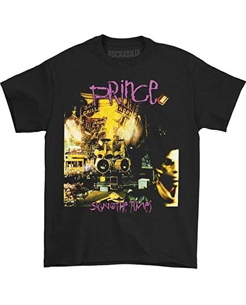 Prince Sign O The Times Adult T-Shirt