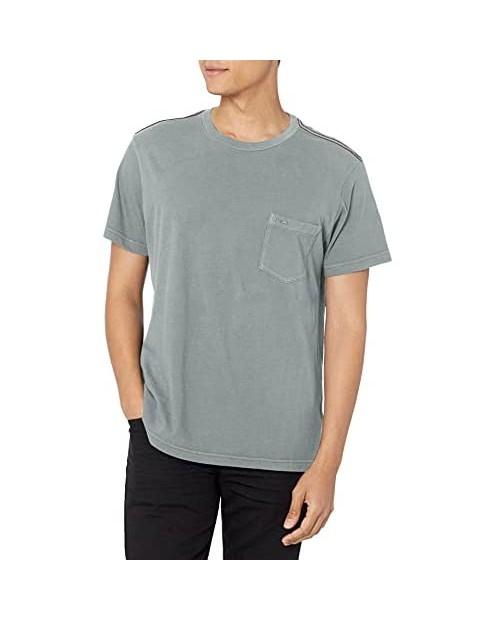 RVCA Men's PTC Pigment Dye Short Sleeve Premium Tee Shirt