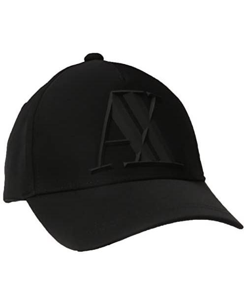 AX Armani Exchange Men's 3d Rubber AX Tonal Logo