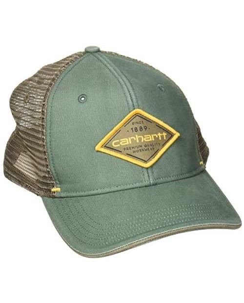 Carhartt Men's Canvas Mesh-Back Quality Graphic Cap