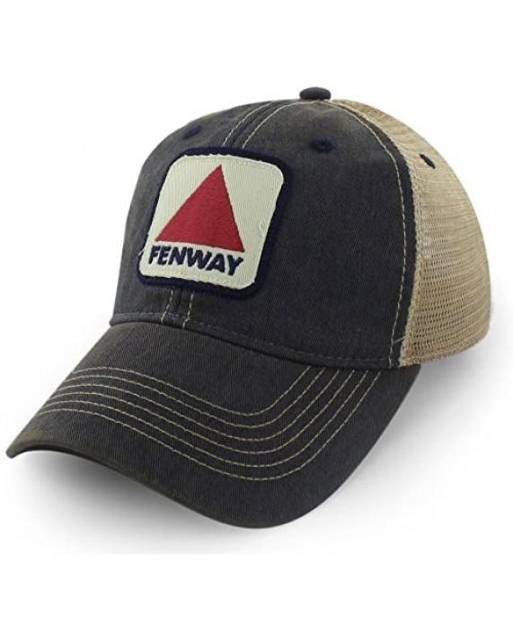 Chowdaheadz Fenway Patch Dirty Water Mesh Trucker Navy Hat