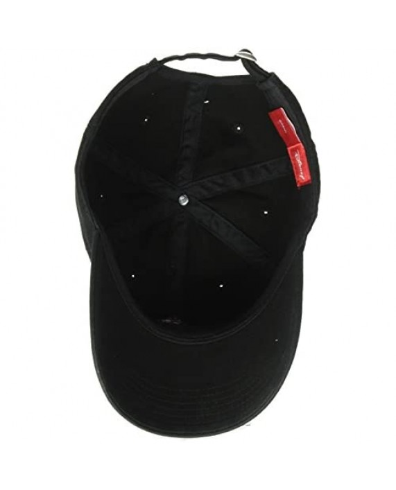 Concept One Men's Mickey Washed Twill Baseball Cap Adjustable