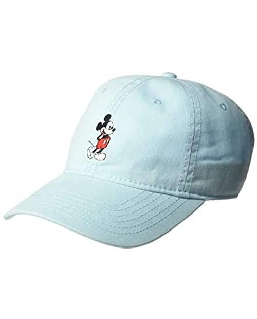 Concept One Unisex-Adult's Mouse Body Baseball Cap Adjustable Blue Full Mickey One Size