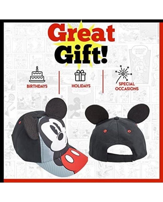 Disney Boys Mickey Mouse Cotton Baseball Cap - 100% Cotton