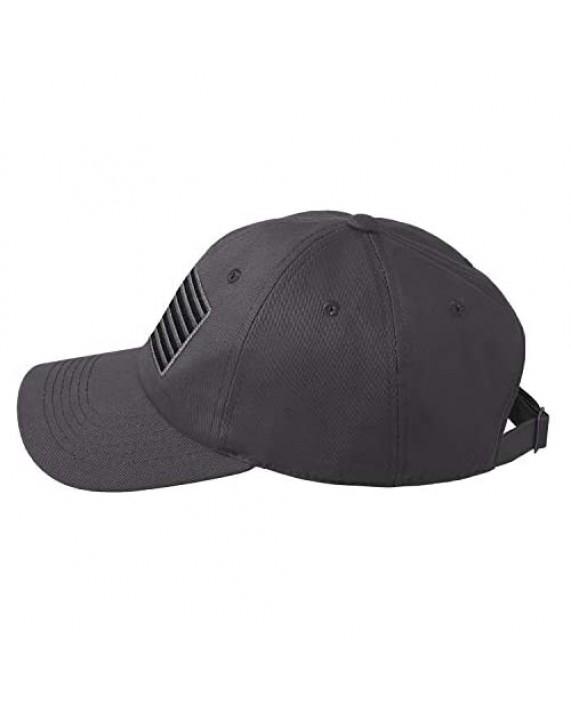 IIN American Flag Baseball Cap for Men Women Low Profile USA Army Tactical Operator Military Plain Dad Hat