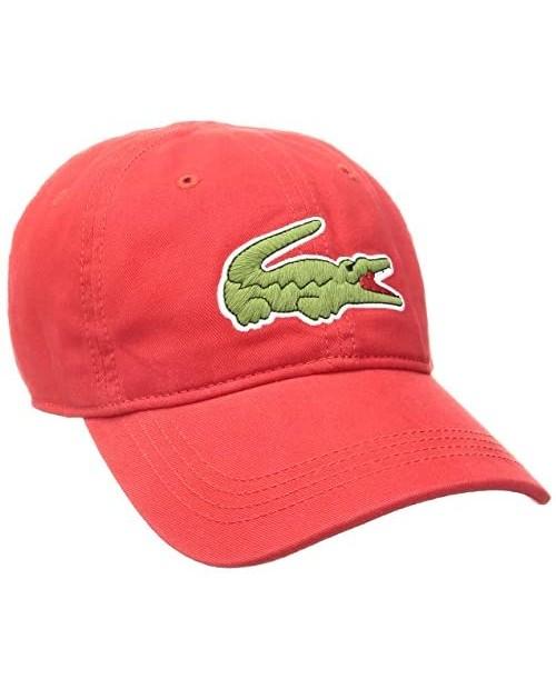 Lacoste Men's Classic Big Croc Gabardine Cap