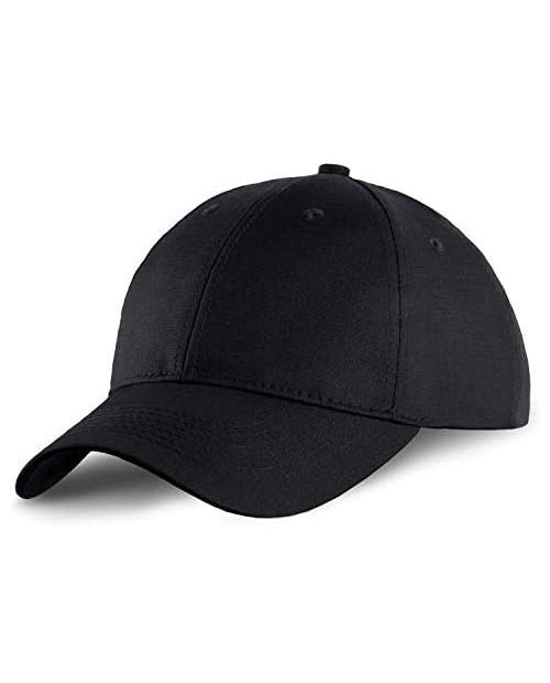 M-Tac Tactical Baseball Cap - Low Profile Hats for Men Ripstop Ball Cap