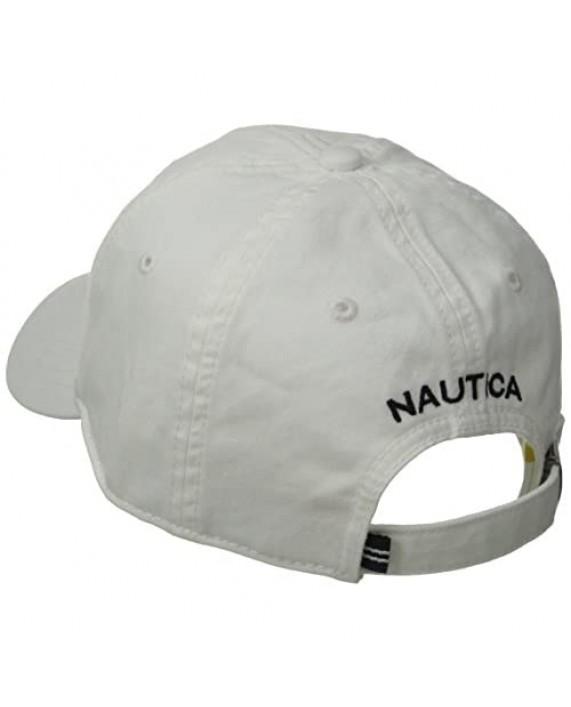 Nautica Men's Twill 6-Panel Cap