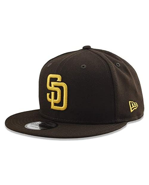 New Era San Diego Padres Brown 9FIFTY Snapback One Size Fit Most