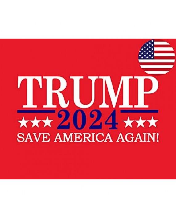 Trump 2024 hat Donald Trump Save America Again red Baseball Cap Adjustable