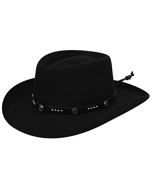 Bailey Western Men Joker Hat Black L