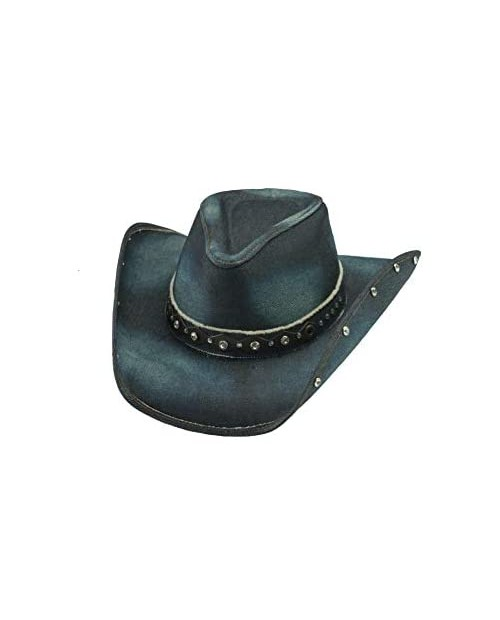 Better Than Yesterday Blue Denim Western Hat Extra Large