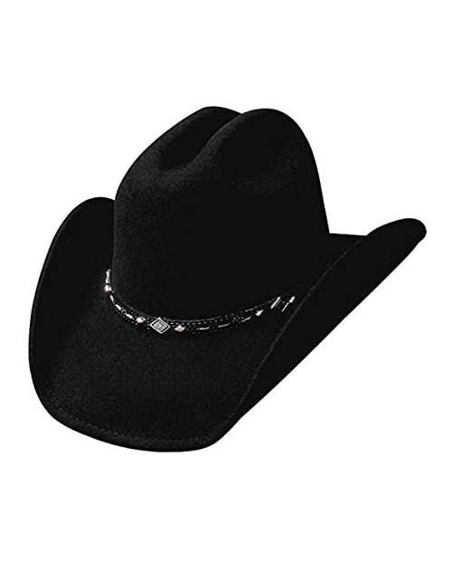 Bullhide Hats Wagoneer Felt Western Cowboy Hat 0327BL