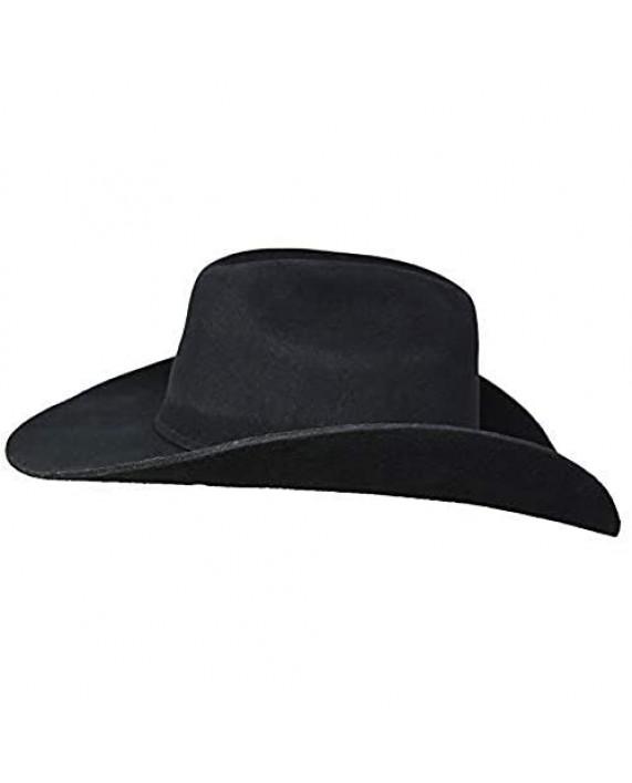 """Bullhide Kingman 4x Wool Felt Western Cowboy Hat 4"""" Brim"""