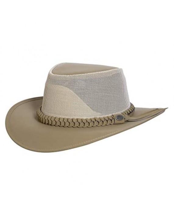 Conner Handmade Hats   Aussie Golf Soakable Mesh Hat Soaker Chiller Hat with Mesh for Men