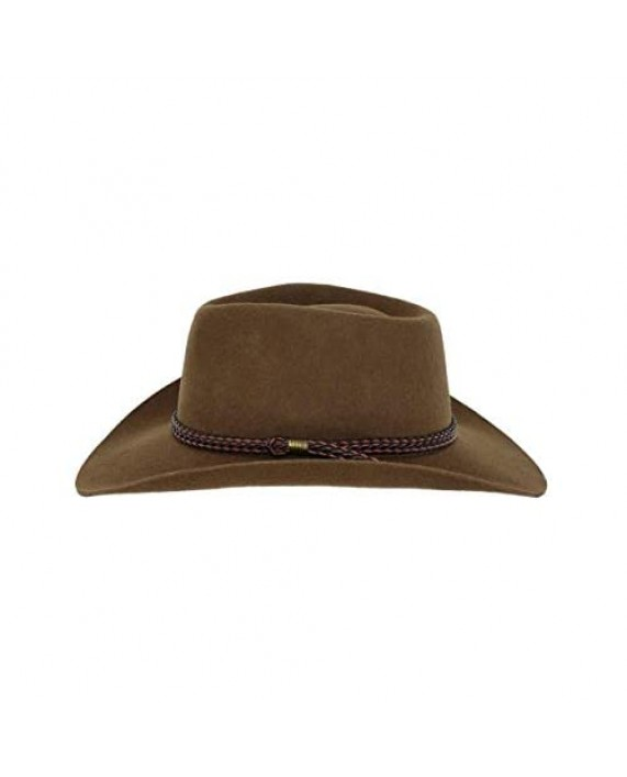Outback Trading Company Men's 1153 Forbes Water-Repellent UV-Protective Australian Wool Western Cowboy Hat