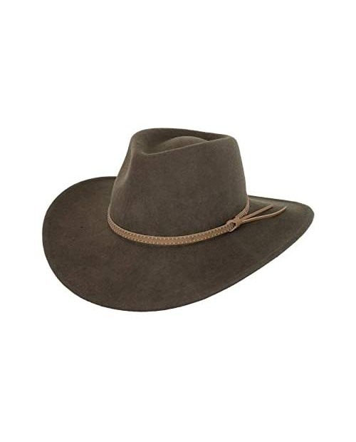 Outback Trading Company Men's 1391 Cooper River UPF 50 Water-Resistant Crushable Australian Wool Western Cowboy Hat