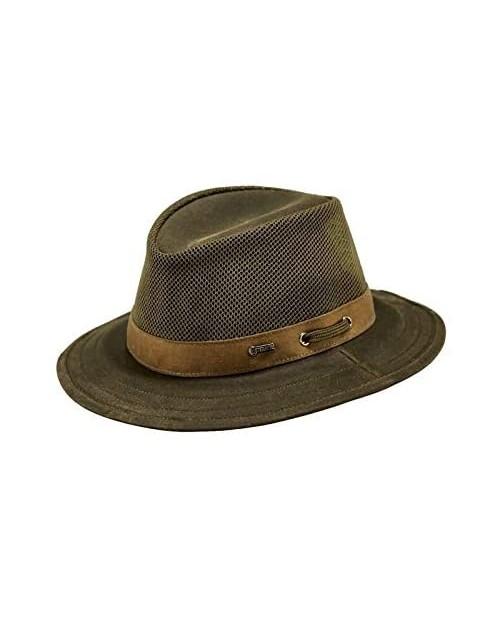 Outback Trading Men's Cotton Oilskin Hat