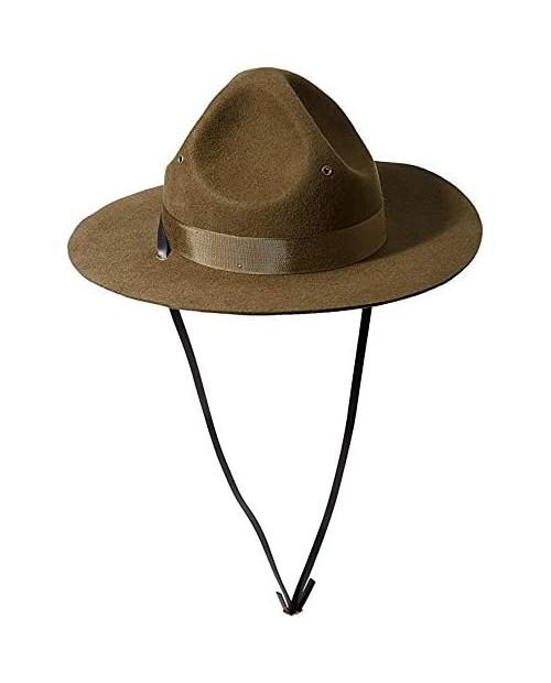 Scala Men's Wool Felt Campaign Hat